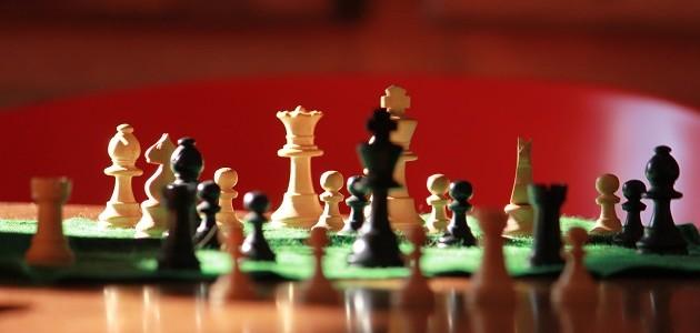 Jeu d'échecs et pêche de la carpe utilisent les principes de la tactique