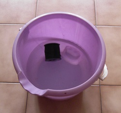 Bassine eau nylon
