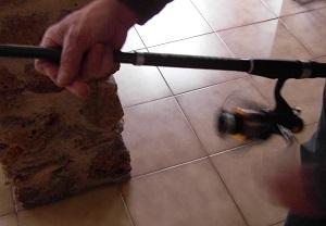 Remplir moulinet carpe