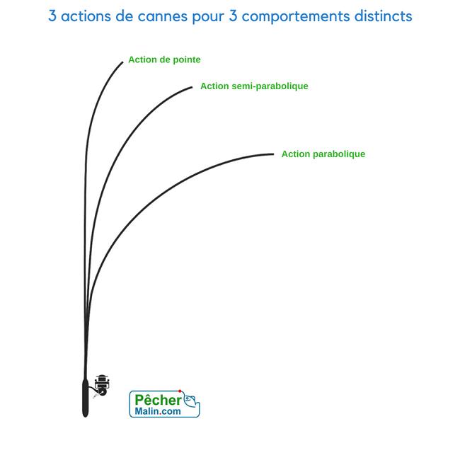 Image De Canne A Peche canne à pêche, découvrez les 3 actions canne à connaître !