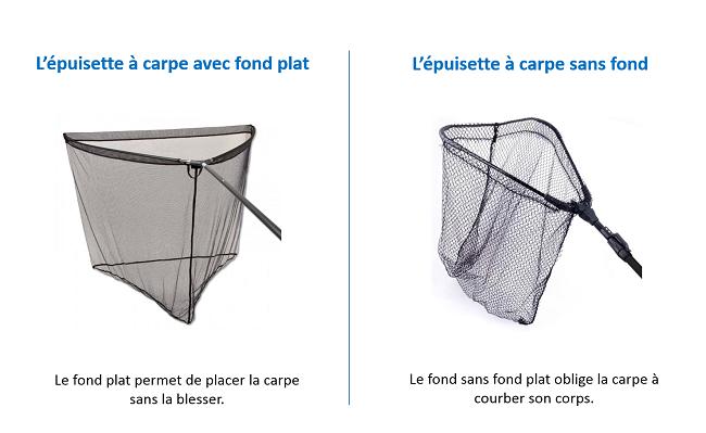epuisette carpe